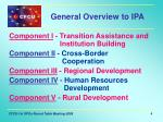 general overview to ipa