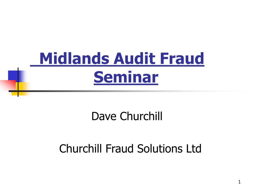 Midlands Audit Fraud