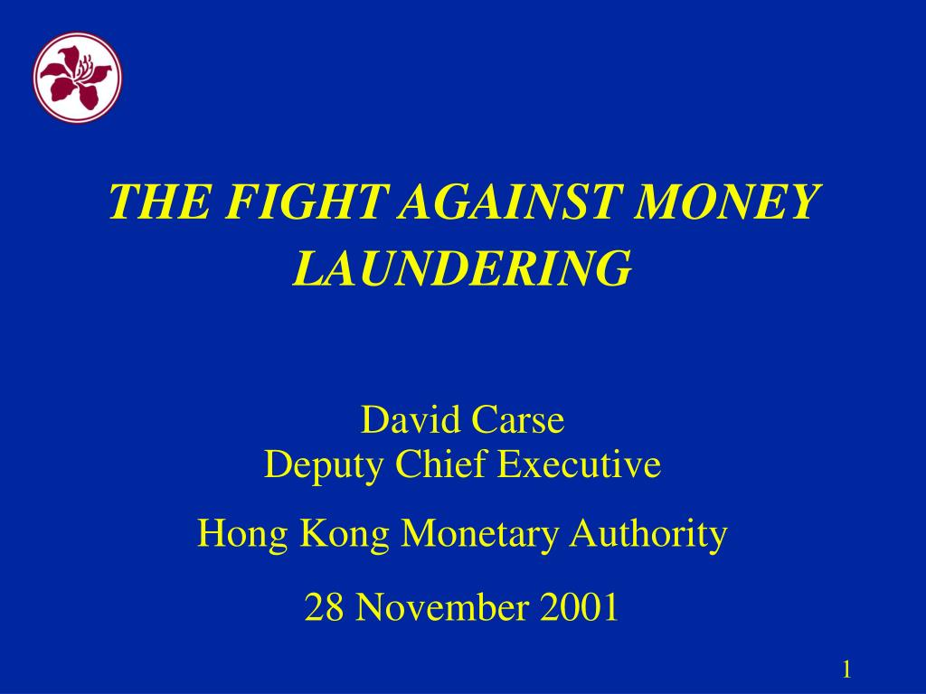 the fight against money laundering l.