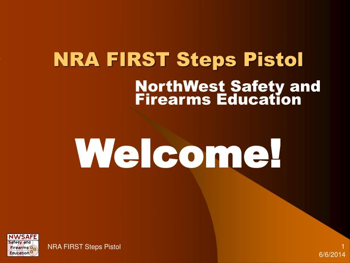 nra first steps pistol n.