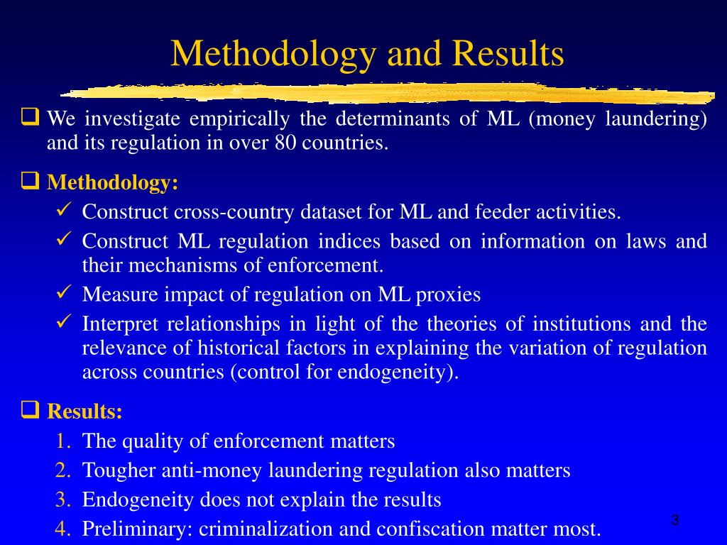 Methodology and Results