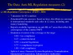 the data anti ml regulation measures 2