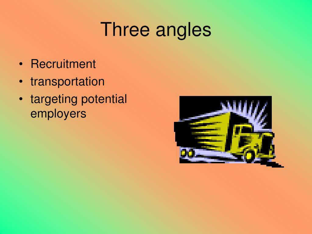 Three angles