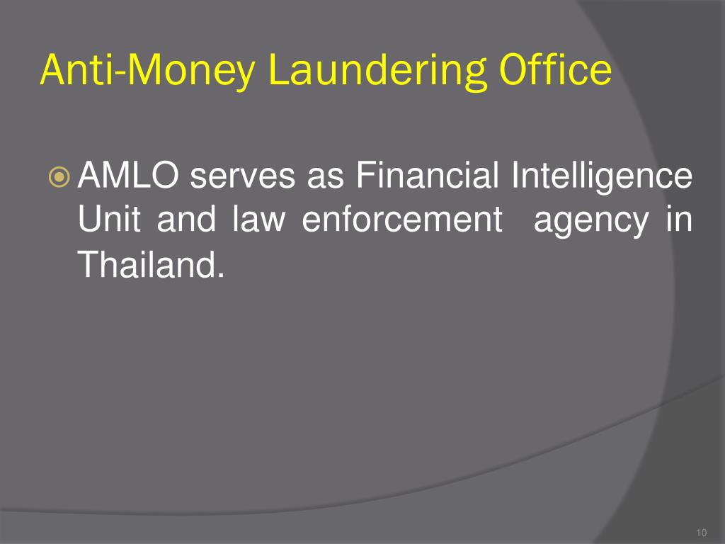 Anti-Money Laundering Office