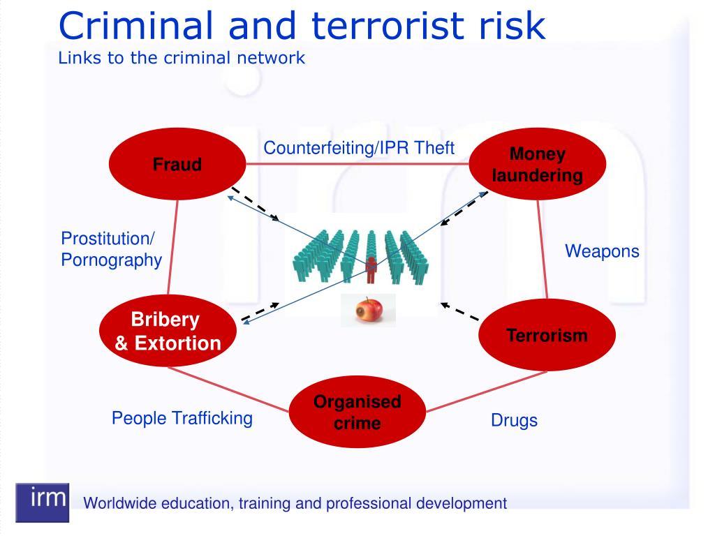 Criminal and terrorist risk
