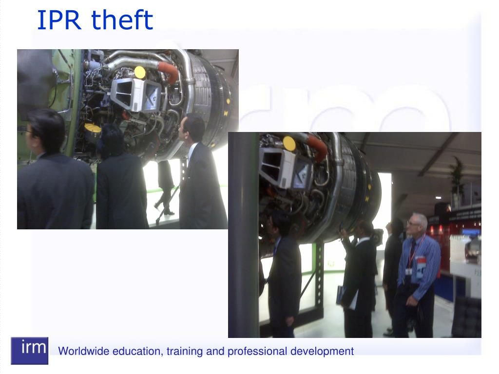 IPR theft