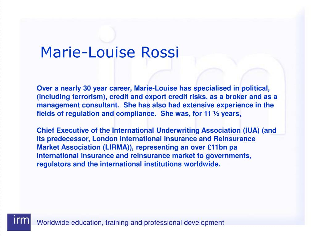 Marie-Louise Rossi