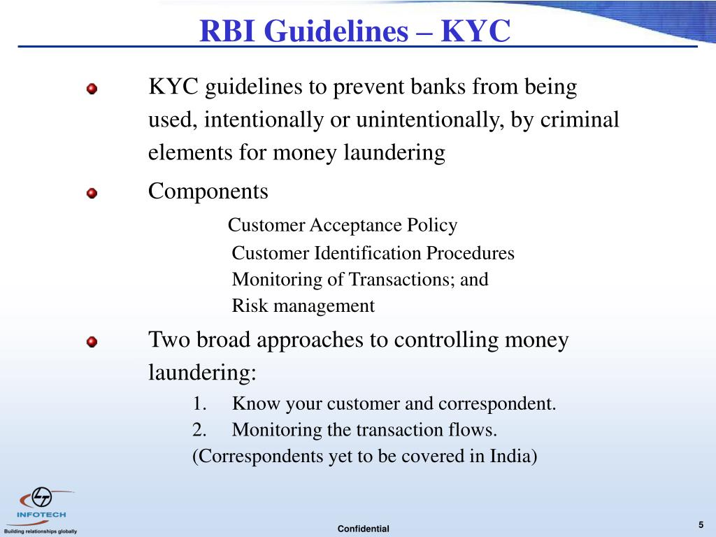 rbi guidelines summary