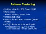 failover clustering1