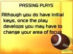 passing plays57