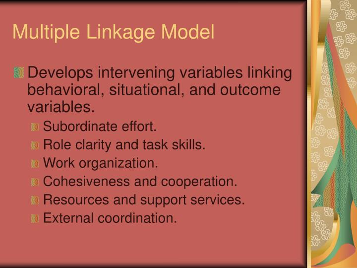 Multiple Linkage Model