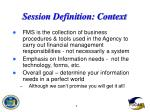 session definition context6