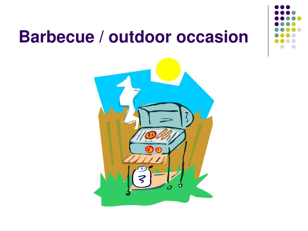 Barbecue / outdoor occasion