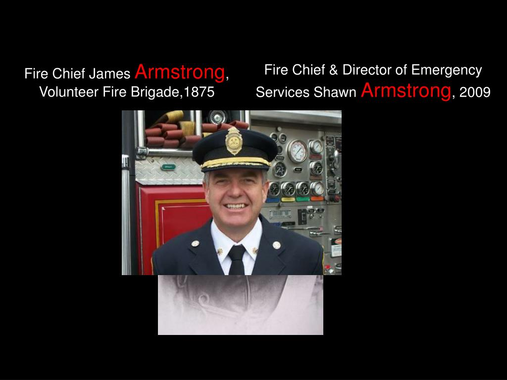 Fire Chief & Director of Emergency Services Shawn