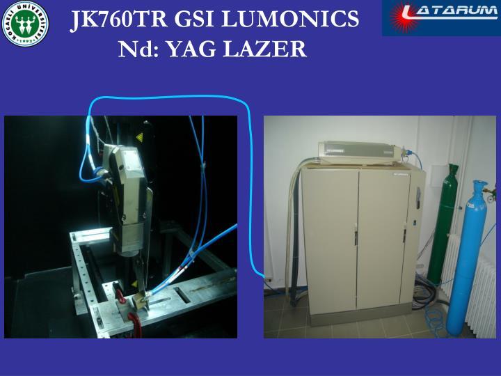 JK760TR GSI LUMONICS