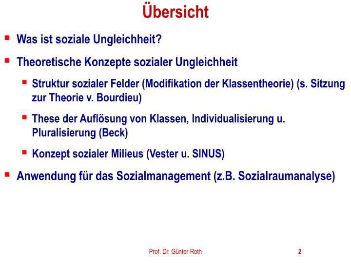 PPT - Sozialstruktur u. Soziale Ungleichheit I: PowerPoint ...