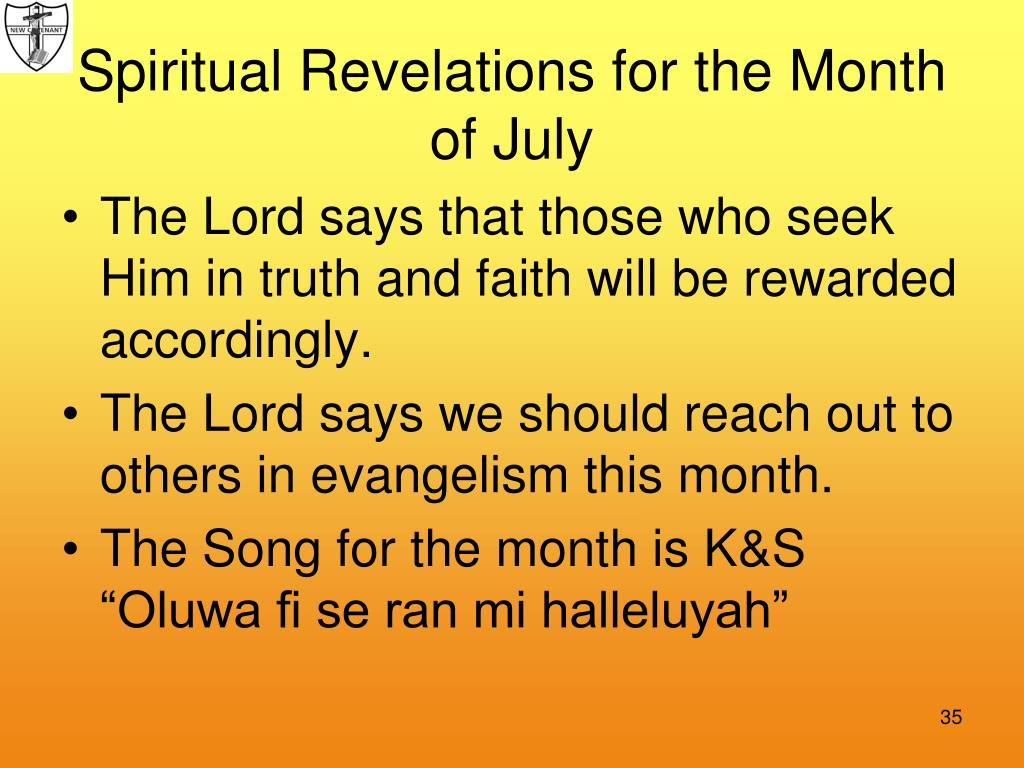 The Lord says that those who seek Him in truth and faith will be rewarded accordingly.