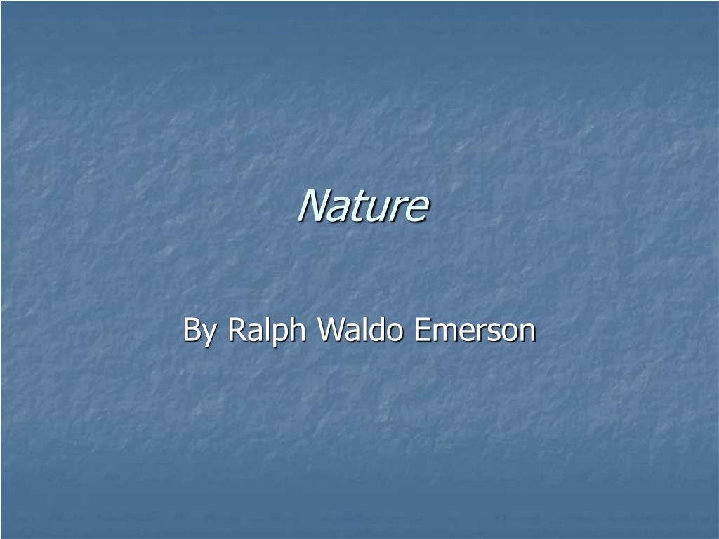 nature l.