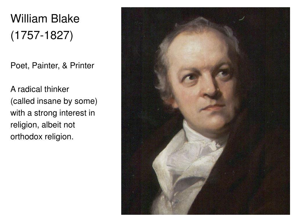 b398580e913 PPT - William Blake (1757-1827) Poet