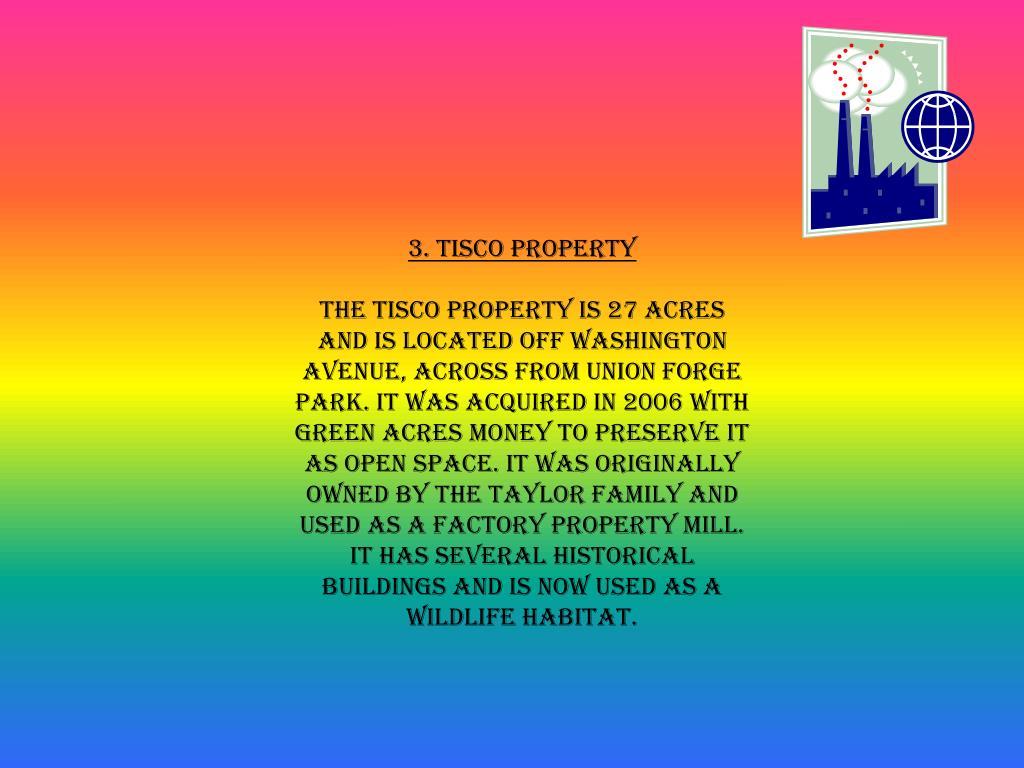 3. Tisco Property