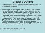 gregor s decline