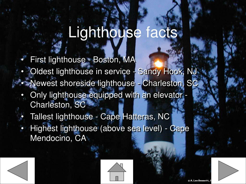 Lighthouse facts