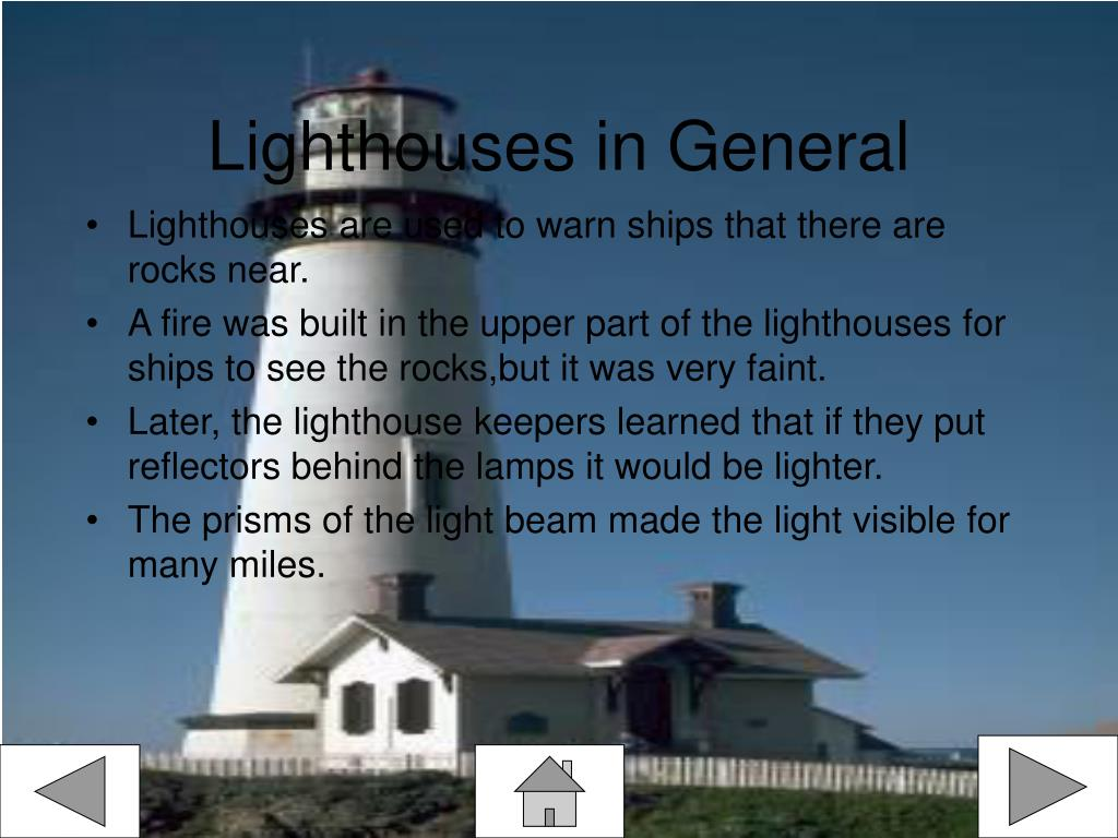 Lighthouses in General