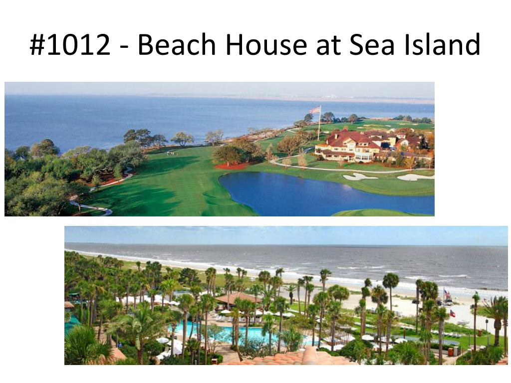 #1012 - Beach House at Sea Island