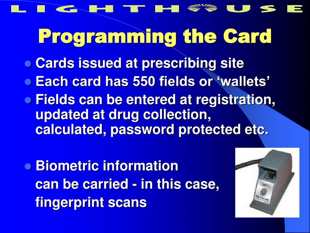 Programming the Card