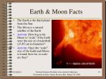 earth moon facts