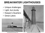 breakwater lighthouses