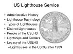 us lighthouse service