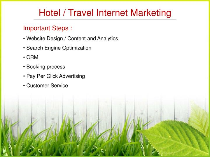 Hotel / Travel Internet Marketing