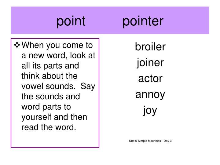 pointpointer