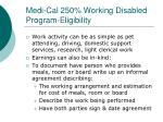 medi cal 250 working disabled program eligibility2