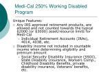medi cal 250 working disabled program2