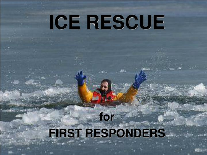 ice rescue n.