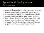 appendix iii configuration parameters65