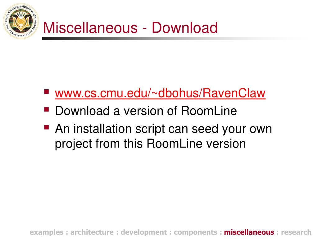 Miscellaneous - Download