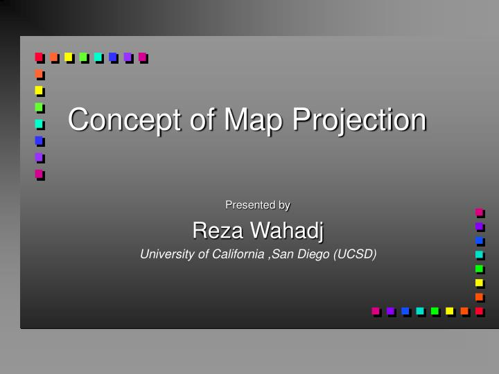 concept of map projection n.
