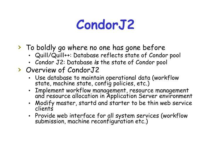 CondorJ2