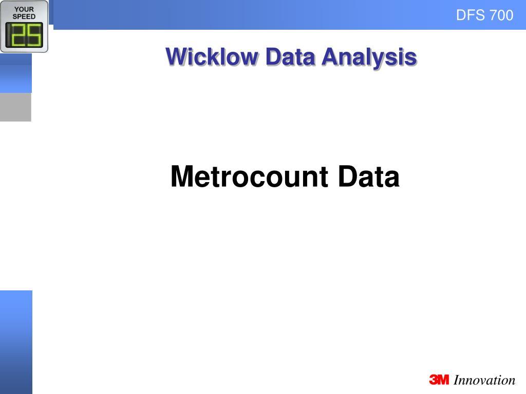 Wicklow Data Analysis