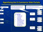 agentfying the e commerce web portals