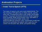 arabization projects