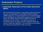 arabization projects9