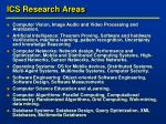 ics research areas