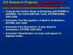 ics research projects computer vision image audio and video processing