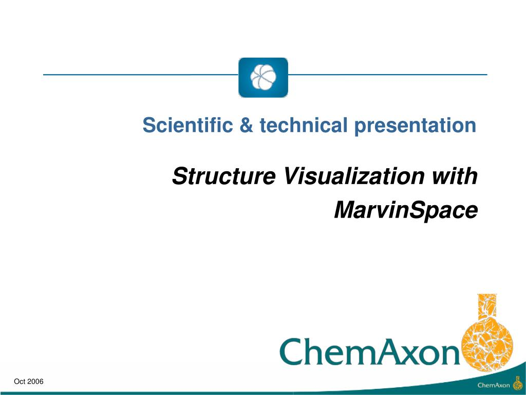 Scientific & technical presentation