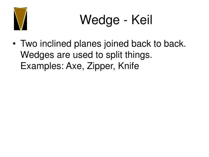 Wedge - Keil