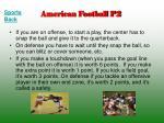 american football p2